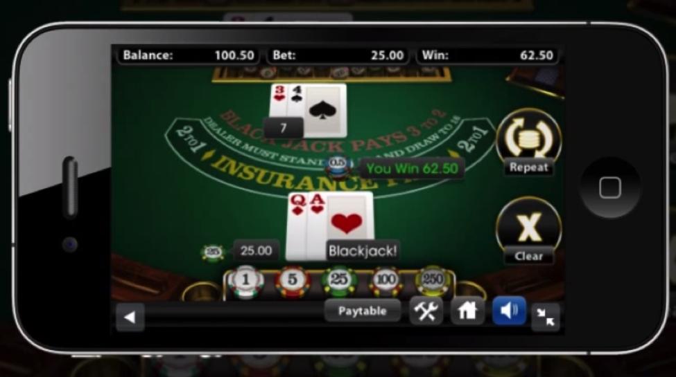 Mobiel blackjack spelen